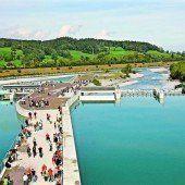 Feldkirch hat neues Kraftwerk Illspitz eröffnet