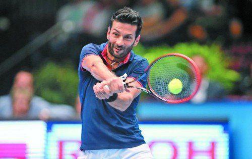 Zum fünften Mal in Wien im Doppelfinale, wieder fehlte das Erfolgserlebnis: Julian Knowle. Foto: gepa