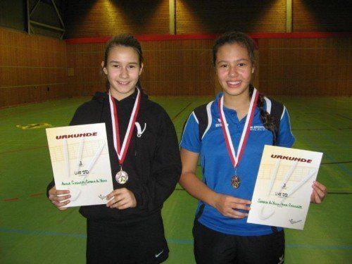 Anna Giesinger (l.) und Serena Au Yeong. Foto: privat