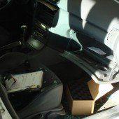Fahrzeuge im Visier von Einbrechern