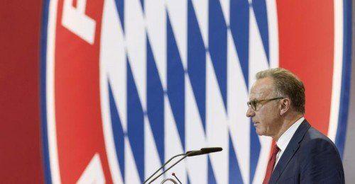 Bayern-Vorstandschef Karl-Heinz Rummenigge zog eine positive Bilanz. Foto: reuters