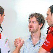 Vettel schnuppert schon bei Rot