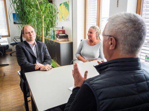 """""""Beim Thema Kooperationen sind wir Gemeinden im Walgau seit langem innovativ unterwegs"""": Gemeindechef Neier im VN-Gespräch."""
