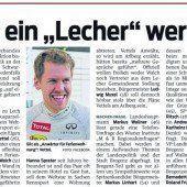 Vettels Bleibe löst Polit-Debatte aus