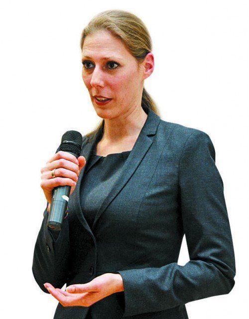 Bettina Grager informierte umfassend.  Foto: Fleisch