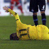 Reus-Ausfall bitter für Dortmund