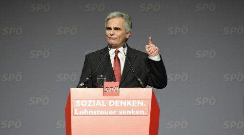 Bundeskanzler und SPÖ-Vorsitzender Werner Faymann erlitt erneute Wahlschlappe.  FOTO: APA