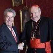 Bischöfe zu Besuch bei Heinz Fischer