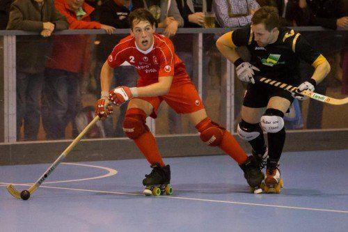 Carafí Jacint erzielte drei Treffer beim Wolfurter Sieg. Steurer