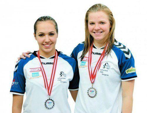 Celina Lutter (l.) und Johanna Wimmer. Foto: Privat