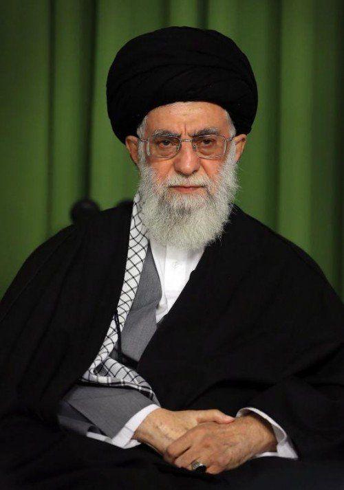 Chamenei: Der Iran lässt sich nicht in die Knie zwingen. FOTO: EPA