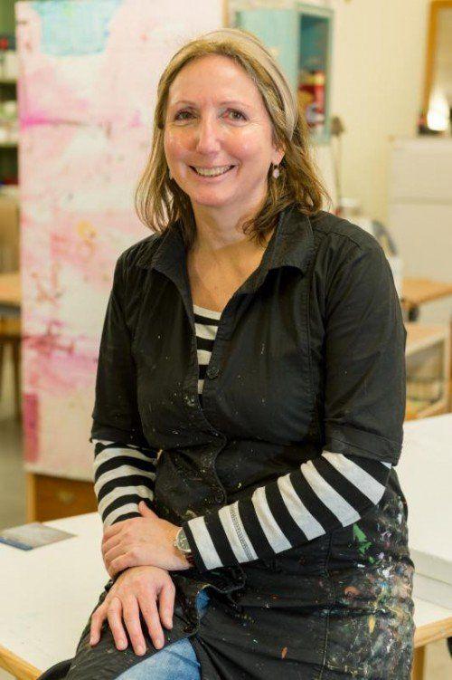 Christine Lingg aus Dornbirn sieht ihren Beruf als Künstlerin eher als eine Lebensweise und Leidenschaft. Foto: vn/Stiplovsek