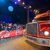 Der Coca-Cola-Weihnachtstruck kommt