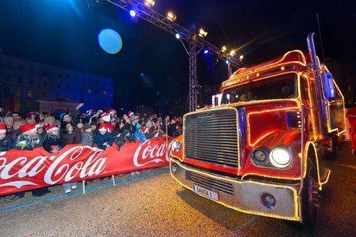CocaCola Weihnachtstrucktour Finale, Palais Liechtenstein, Wien, 16.12.2012,