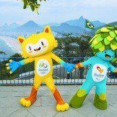 Olympia in Rio hat zwei Maskottchen