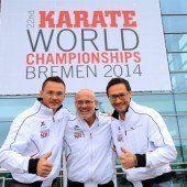 Karateka der historischen Triumphe