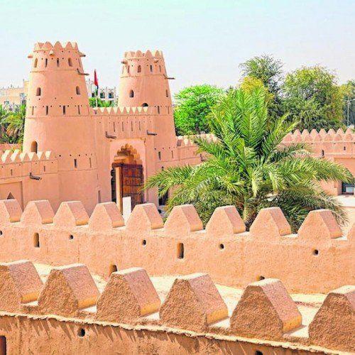 Das Al Jahili Fort in al-Ain ist einen Besuch wert.