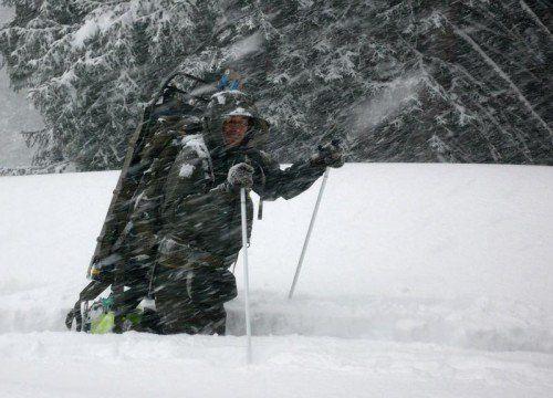 Das benötigte Gerät für den Katastropheneinsatz im Winter lässt auf sich warten. FOTO: S. Schwärzler