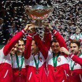 Federer gewinnt erstmals Davis Cup