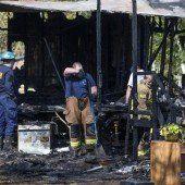 Fünf Kinder starben bei Wohnungsbrand