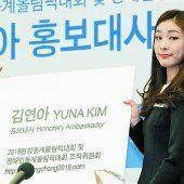 Kim Yuna ist Botschafterin der Spiele 2018