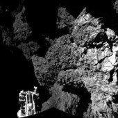 Philae steht nach holpriger Landung stabil