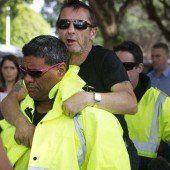 Phil Rudd irritiert mit Auftritt vor Gericht