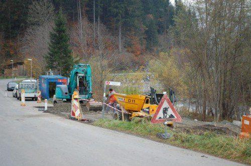 Die Arbeiten am Radweg stehen vor dem Abschluss.  Foto: str