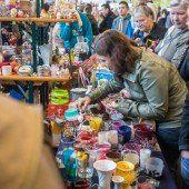 Flohmarkt als Publikumshit