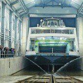 Romanshorn nun größte Werft am See