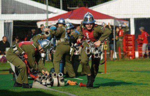 Die Feuerwehren Vorarlbergs werden vom Land kräftig unterstützt.  Foto: Ludwig Berchtold