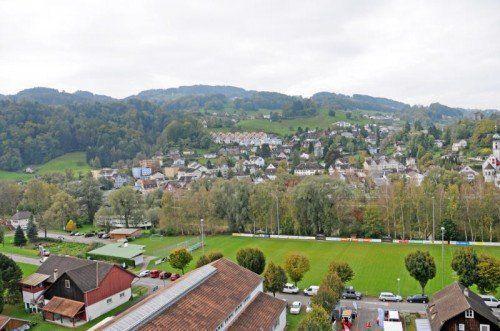 Die Gemeinde Gaißau plant, den Sportplatz zu verlegen.