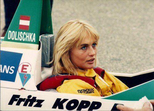 Die Hohenemserin Osmunde Dolischka schaffte es bis in die Formel 3. Fotos: Noger/3