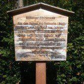 Bludenz erneuert Tafeln des Waldlehrpfads