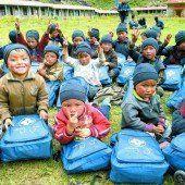 Vorarlbergerin im dritten Hilfseinsatz am Himalaya