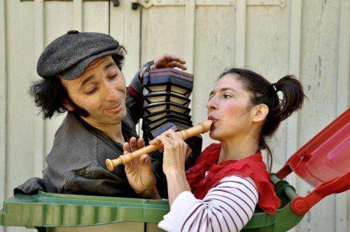 """Die """"kinder.welten""""-Reihe wird mit der Produktion """"Emillio & Ellie"""" der Vorarlberger Kreativkompanie XTHESIS fortgesetzt. foto: caroline begle"""