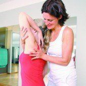 Gesunder Lebensstil hilft auch bei Rückenschmerzen