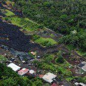 Lavafluss schiebt sich auf Hawaii weiter vor