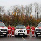 Rotes Kreuz erweitert seinen Fuhrpark um drei Fahrzeuge