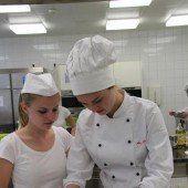 EYOF: Rund 130 Schüler sorgen für das Essen