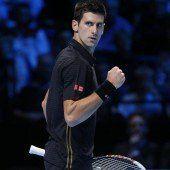 Djokovic mit zweitem Sieg beim ATP-Finale