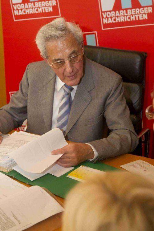 Dr. Gottfried Feurstein. VN/RP