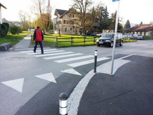 Durch verschiedene Maßnahmen wurde der Verkehrsknotenpunkt sicherer gestaltet.  Foto: thp