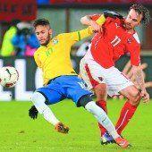 Unglückliche 1:2-Niederlage des ÖFB-Teams gegen Brasilien