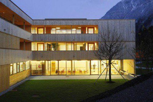 Ein Beispiel für die Bautätigkeit der VOGEWOSI: Betreutes Wohnen in Nenzing.  Foto: VOGEWOSI