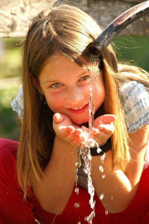 Ein ganzer Tag wurde dem Thema Wasser gewidmet.  Foto: Berchtold