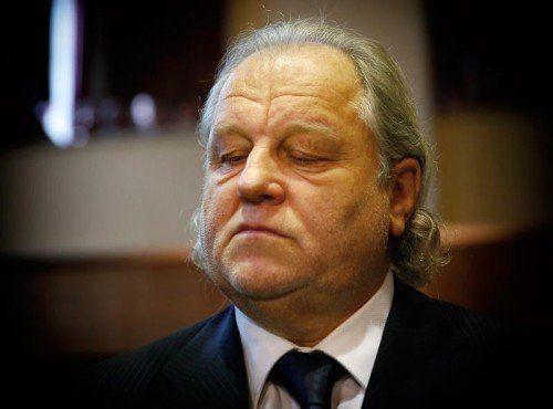 Ein sichtlich gezeichneter Hannes Kartnig, Ex-Sturm-Präsident. gepa