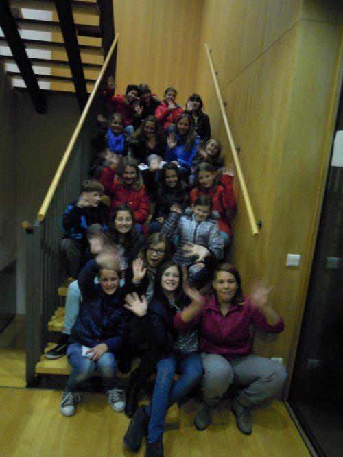 Eine Schülergruppe aus Höchst sorgte für Begeisterung.