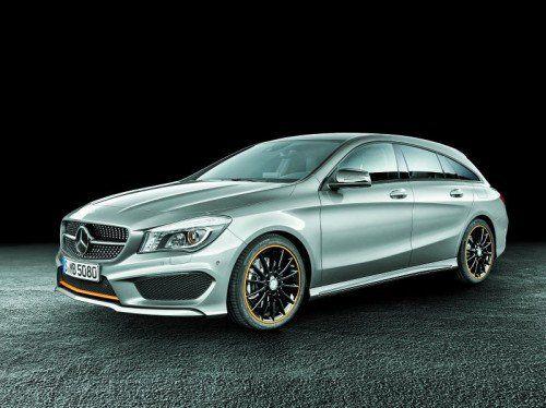 Enthüllt: Mercedes zeigt erstmals den neuen CLA Shooting Brake. Marktstart: März 2015. Foto: werk