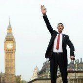 Größter und kleinster Mensch der Welt